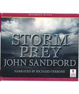 Storm Prey by John Sandford Unabridged CD Audiobook (Prey Series... Luca... - $50.00