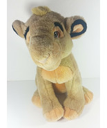 Walt Disney Parks Simba Plush 14in The Lion King Stuffed Animal Cub Movi... - $9.99