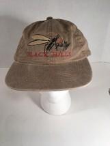 Black Hills Bite Me Embroidered Adjustable Strap Back Hat Tan Big Skeeter - $14.00