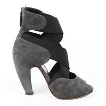 Alaia Suede Crossover Sandals SZ 39.5 - $135.00