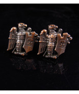 Unusual Eagle Cufflinks vintage eagle shield - Patriotic military - offi... - $85.00