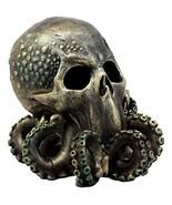 """Ebros Ocean Monster Terror Kraken Cthulhu Skull Figurine 6"""" H Mythical S... - $29.69"""