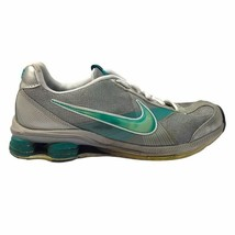 Nike Womens Shox Zip Diamond Flex Running Shoes Gray 386382-031 Sneakers... - $37.23