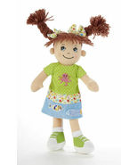 "Adorable Apple Dumplin' Cloth 14"" Doll by Delton - Beach Girl - €24,46 EUR"