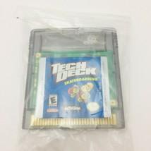 Tech Deck Skateboarding Nintendo Game Boy Color Video Game Cartridge Tes... - $5.44