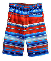 ZeroXposur Boys' Printed Board Shorts Stars Stripes Beach Swim Trunks - S image 3
