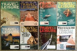 Lot 8 2017 2018 Travel + Leisure magazine: Where to Go 2018, Adventure, ... - $12.41