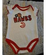 NBA Atlanta Hawks Infant Girls Sz. 3/6mos Nwot - $4.95