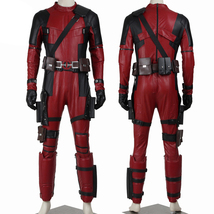 Deadpool Costume Suit Superhero Halloween Outfit Custom Any Size - $219.96