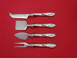 Silver Wheat By Reed & Barton Sterling Silver Cheese Serving Set 4pc HHWS Custom - $289.00