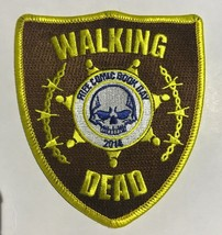 "4"" Walking Dead Free Comic Book Day 2014 Patch FREE SHIPPING FCBD - £7.64 GBP"