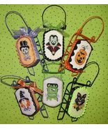 Monster Mash halloween sleds cross stitch chart Sue Hillis Designs  - $10.80