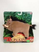 Vintage 1994 Mattel Original Disney The Lion King PUMBAA Stuffed Plush Toy - $34.60