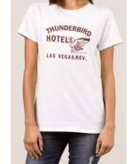 Thunderbird ladies 100% cotton t-shirt boxing ali sonny liston hotel ret... - $27.00