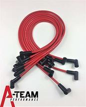 A-Team Performance 8.0mm Red Silicone Spark Plug Wires SBC Small Block Compatibl