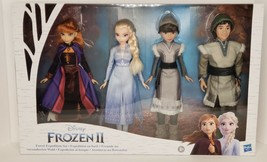 Disney Frozen 2 Forest Expedition Set 11-Inch Doll 4-Pack Anna, Elsa, Ryder, Hon - $49.49