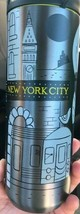 Starbucks 2019 New York City Collection Stainless Steel Tumbler Travel M... - $33.35