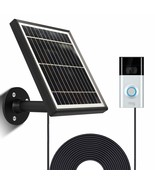 Solar Panel Compatible with Ring Video Doorbell 3/3 Plus, Waterproof Cha... - $78.12+