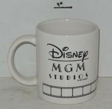 1987 Coffee Mug Cup Disney MGM Studios Ceramic white - $46.75
