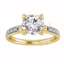 1.25 Carat Round Cut Diamond 925 Sterling Silver Solitaire Engagement Ring - $77.88