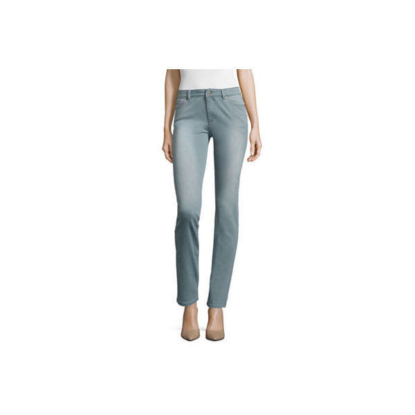 Primary image for Liz Claiborne City-Fit Skinny Jeans Size 18L New Msrp $48.00 Vapor