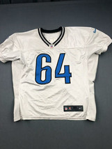2014 Travis Swanson Practice Used Detroit Lions Nike Football Game Jersey! - $93.49