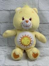 "Care Bears ""Funshine"" Bear Plush 10"" Stuffed Animal 2003 Yellow with Sun... - $12.60"