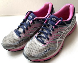 ASICS Women's GT 2000 T757N Pink Grey Running Athletic Shoes SZ 8.5 - $29.69