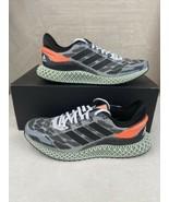 Adidas 4D Run 1.0 FW1233 Cloud White / Core Black / Signal Coral Men NEW... - $133.62