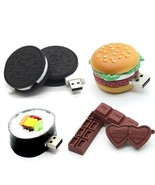 Pendrive Chocolate Cookies 32GB 64GB USB Flash Drive Memory Stick Storag... - $6.33+