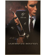 American Psycho Signed Movie Poster  - $180.00