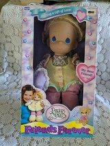 """Precious Moments Friends Forever 16"""" Plush Doll 1997 Retired - $33.94"""