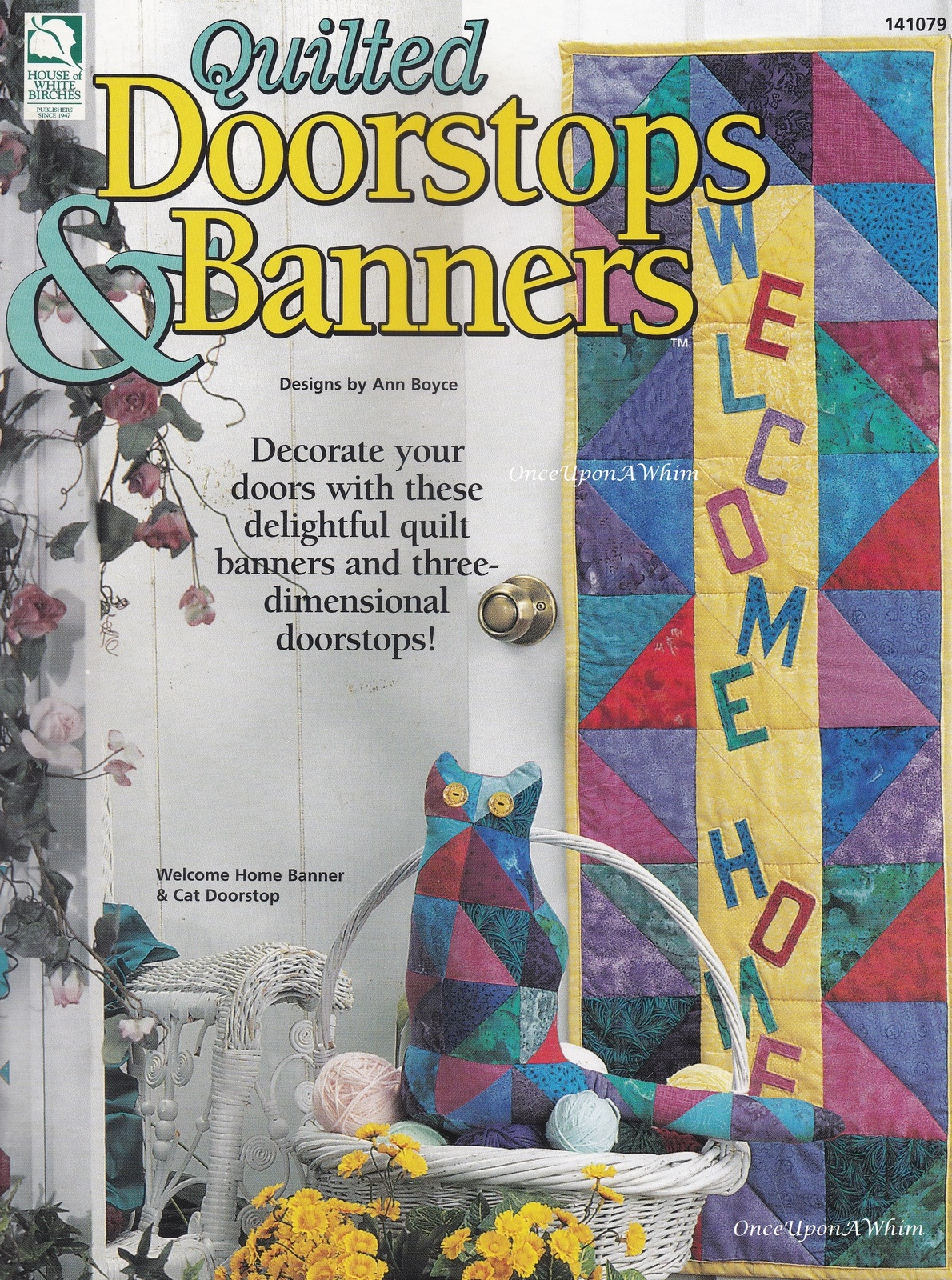 Primary image for Doorstops & Banners, House of White Birches Quilting Pattern Booklet 141079