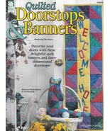 Doorstops & Banners, House of White Birches Quilting Pattern Booklet 141... - $4.95
