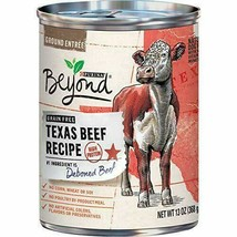(12) Purina Beyond Grain Free Wet Dog Food, Texas Beef Recipe - 13 oz. Cans - $36.37