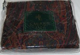 Ralph Lauren GREYCLIFF PAISLEY King Bedskirt NWT RARE NEW - $54.44