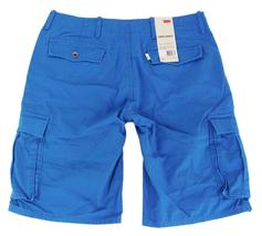 BRAND NEW LEVI'S MEN'S COTTON CARGO SHORTS ORIGINAL RELAXED FIT BLUE 124630030 image 3