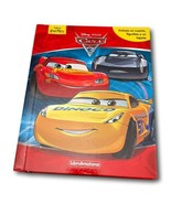 Disney Cars Book Activity Set 12 figures 4 Scenario playmats SPANISH New - $34.99