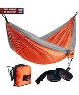 "Single Camping Hammock Tree Straps Outdoor 55""W... - $454,65 MXN"