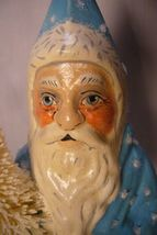 Vaillancourt Folk Art, Snowy Father Christmas, Personally signed by Judi! image 3