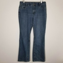SONOMA Womens Stretch Blue Jeans Size 14 (31 Inseam) Boot Cut Denim Pants  - $24.25