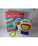 Street Beat 1994 Sing-A-Song AM FM Radio with Microphone PR-33 - Working - $27.71