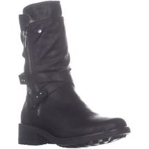 Carlos by Carlos Santana Sawyer 4 Mid Calf Boots, Black - $38.99