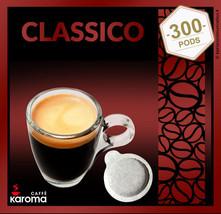 300 Italian Espresso Pods ESE. Strong Blend! (Napoletano) Dark Roast Karoma - $81.01