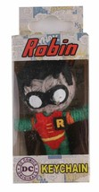 "Dc Comics 2.5 "" Robin Batman Saiten Puppe Keychain Voodoo Handyanhänger Figur image 2"