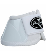 X Large Professional Choice Flexible Comfort Horse Spartan Bell Boots Wh... - $35.63