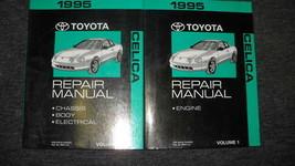 1995 Toyota Celica Servicio Reparación Tienda Manual Juego OEM 2 Volumen Libro - $98.95