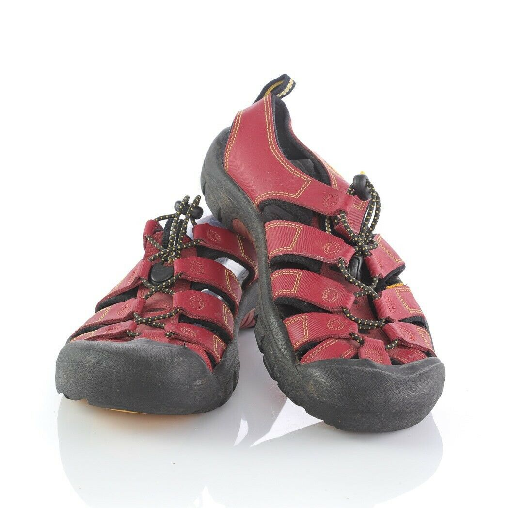 Keen Dark Red Hiking Sport Sandals Trail Outdoor Shoes Waterproof Womens 6 - $44.39