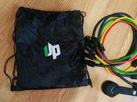 UPOWEX Unbreakable Resistance Bands Set – 5 Stackable Exercise Bands NEW image 5