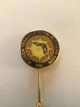 FLORIDA TRANSPORTATION BUILDERS ASSN. INC. lapel tie tack pin back - £8.15 GBP
